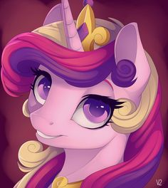 Princess Cadance's smile