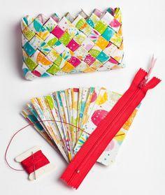candy wrapper bag- Meksikansk fletting