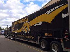 Iowa Hawkeyes truck