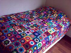 Granny squares - love this!