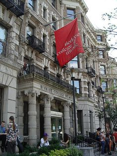Berklee College of Music in Boston, so happy to have many connections to the school of so many famous people today
