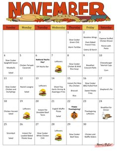 Monthly and Weekly Meal Plan w/ Grocery Lists and Recipes - Meal Planner - Budget Planner - F. - Monthly and Weekly Meal Plan w/ Grocery Lists and Recipes – Meal Planner – Budget Planner – F - Budget Meal Planning, Family Meal Planning, Family Meals, Weekly Budget, Weekly Menu, Meal Planing, Thanksgiving Meal Planner, Thanksgiving Recipes, Monthly Meal Planner