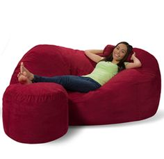 The Perfect Size Bean Bag Lounger For Those With Limited Space! | Cool  Furniture | Pinterest | Bean Bag Lounger, Bean Bags And Beans