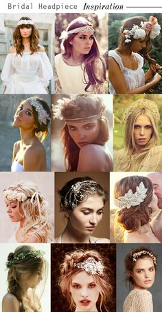 Bridal Front: Headpieces | On the Brink - Courtney Kaye Official Jewelry Blog