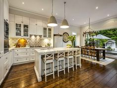 Feature Friday: Step inside Darren and Dee from The Block's Home. Hamptons provinical kitchen