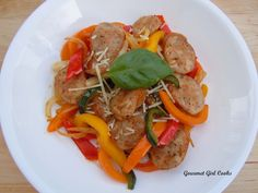 Gourmet Girl Cooks: Italian Sausage w/ Peppers & Onions