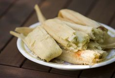 chicken in green salsa tamal From Pati's TV Show....:)