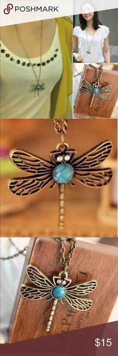 Latest Fashion Dragonfly Chain Necklaces Brand new Jewelry Necklaces