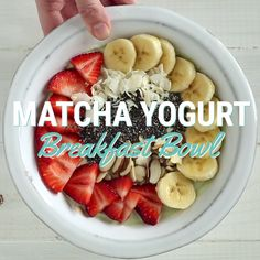 This yogurt bowl is very easy to make, super delicious, and packed full of fiber and protein.