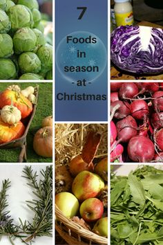 7 foods in season at Christmas