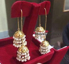 18 Carat Gold earrings Gallery - Jewellery Designs