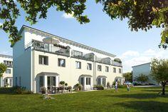 Familienfreundliche #Reihenhäuser in Mahlsdorf mit Garten.