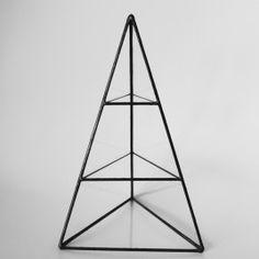 Three Level Pyramid Display