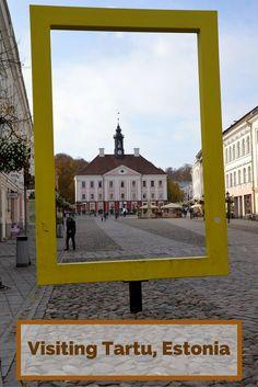 Tartu - an intellectual heart of Estonia