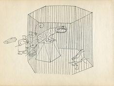 The Three Undertakers Paul Flora, Melancholy, Illustration, Art, Cauldron, Art Background, Kunst, Illustrations, Performing Arts