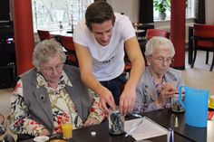 In the Netherlands, students live rent-free with seniors at a retirement home in exchange for visiting with the seniors.