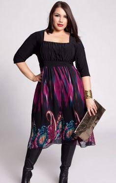 Trendy plus size dresses canada