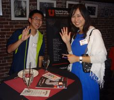 David Eccles School of Business alumni in the Bay Area had a great networking event.