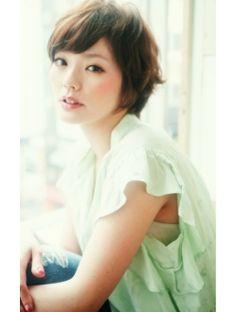 ☆ヌーディーショート☆【hair salon ekubo.】03-6280-6978