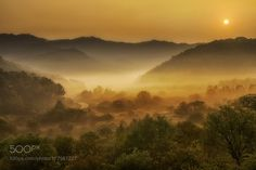 The fog is gathered there.(인제) by c1113. Please Like http://fb.me/go4photos and Follow @go4fotos Thank You. :-)