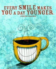 Every Smile Makes You A Day Younger! #ChineseProverb #quotes #positive #beverlyhillsformula