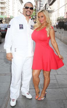 Ice-T & Coco from The Big Picture: Today's Hot Pics  The parents-to-be are all smiles while leavingGood Day New York.