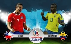 Full Match: Chile Vs Ecuador 2-0 11/06/2015 Copa America Chile 2015