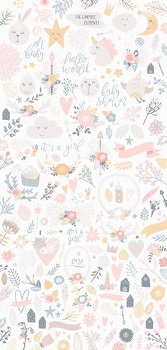 Fille de licorne clipart bébé motifs clipart de chambre de | Etsy Iphone Background Wallpaper, Pastel Wallpaper, Aesthetic Iphone Wallpaper, Flower Wallpaper, Girl Wallpaper, Unicorns Wallpaper, Rabbit Wallpaper, Cellphone Wallpaper, Screen Wallpaper