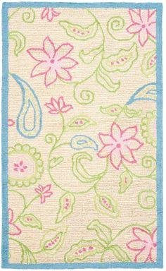 Safavieh Flower & Vine Hand-Tufted Wool Rug