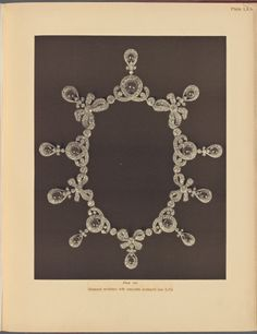 Imperial Romanov Jewels - The Russian Diamond Fund: Russia's Treasure of Diamonds and Precious Stones (Diamond necklace with emeralds)