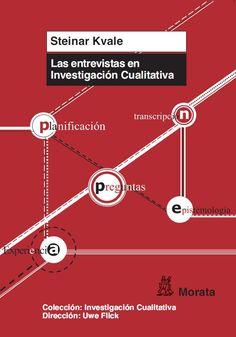 Las Entrevistas en investigación cualitativa / Steinar Kvale ; traducido por Tomás del Amo y Carmen Blanco. Morata, D.L. 2011
