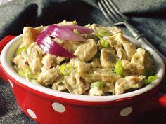 Hlívový salát Potato Salad, Cabbage, Potatoes, Chicken, Meat, Vegetables, Ethnic Recipes, Food, Potato