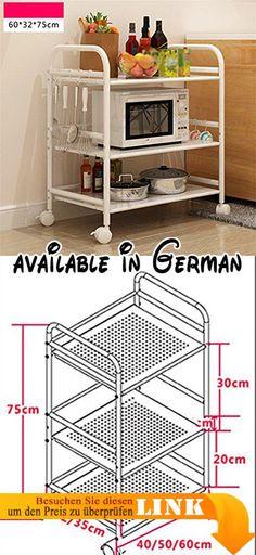 B078FN35KP  Holz Küche Trolley für Flaschen und vier - hochschrank 30 cm breit küche