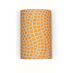 Channels Wall Sconce Sunflower Yellow