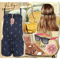 Romper Blue Style <3, created by deaf-2.polyvore.com
