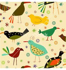 Image result for vintage bird patterns