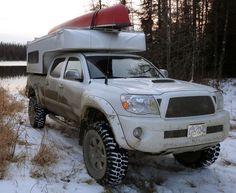 Toyota Tacoma and Phoenix Camper, http://www.truckcampermagazine.com/newbie-articles/picking-the-perfect-truck-camper/