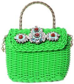7b3b9b6f0158 Shourouk Brigitte Green Bag in Green Green Bag
