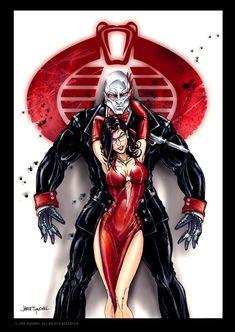 GI JOE Destro Baroness formal by *jamietyndall on deviantART