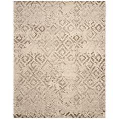 Safavieh Handmade Himalaya Solid Grey Wool Area Rug 10 X 14 By
