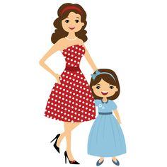 23 best mothers images on pinterest clip art illustrations and mom rh pinterest com mother daughter clip art free mother daughter banquet clipart