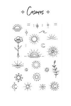 # ozilook # tattoo # smalltattoos # tattooforwomen # tattooart # tattooquotes # watercolorta tatoo f Mini Tattoos, Cute Tattoos, Body Art Tattoos, Small Tattoos, Sleeve Tattoos, Tatoos, Small Tattoo Symbols, Finger Tattoos, Tattoo On Face