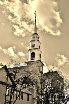 Church in historic downtown Frederick Md