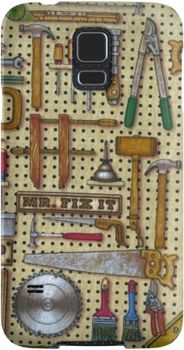 Mr. Fix It Handyman Tools Workshop | Snap Cases, Tough Cases, & Skins for iPhones 4s/4 5c/5s/5 6Plus & Samsung S3/S4/S5 Galaxy Phones. **All designs available for all models.