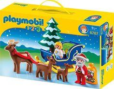 PLAYMOBIL 6787 - Weihnachtsmann mit Rentierschlitten