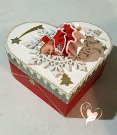 Christmas baby girl red and white baby birth box rnrnSource by Bubble Christmas, Christmas Baby, Decoupage, Crea Fimo, Baby Mold, Cold Porcelain Flowers, Biscuit, Baby Girl Cakes, Cute Baby Dolls