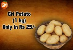 25 Ki Loot !!! Grab(1kg) #Potato In Just Rs 25/- Only At Grocery Mantra https://www.grocerymantra.com/catalogsearch/result/?cat=0&q=potato #OnlineSuperMarket #OnlineGroceryShopping #TingTing #JaiHind #SaveWater