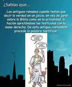 Testículos...perdón testificar