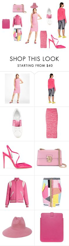 """""""fantastic set"""" by emmamegan-5678 ❤ liked on Polyvore featuring Brooks Brothers, Under Armour, Valentino, N°21, Olgana, Dolce&Gabbana, Yves Saint Laurent, Moschino, Gucci and Smythson"""