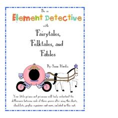 Fairytales, Folktales and Fables Element Detective $8.00